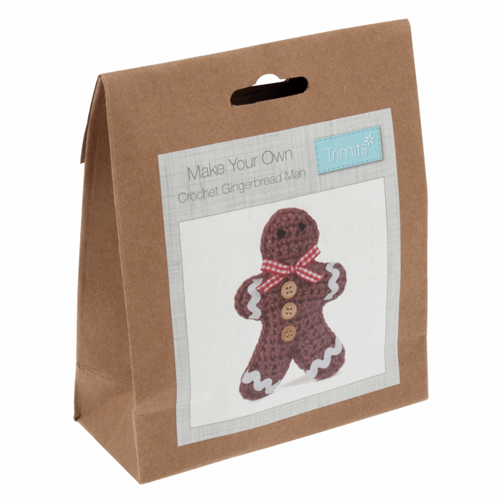 Crochet Kit: Christmas Gingerbread Man