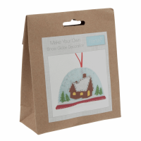 Felt Decoration Kit: Christmas: Snow Globe