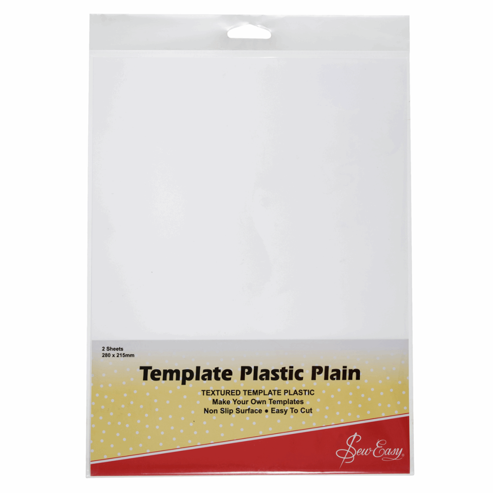 Template Plastic - Plain (Sew Easy)