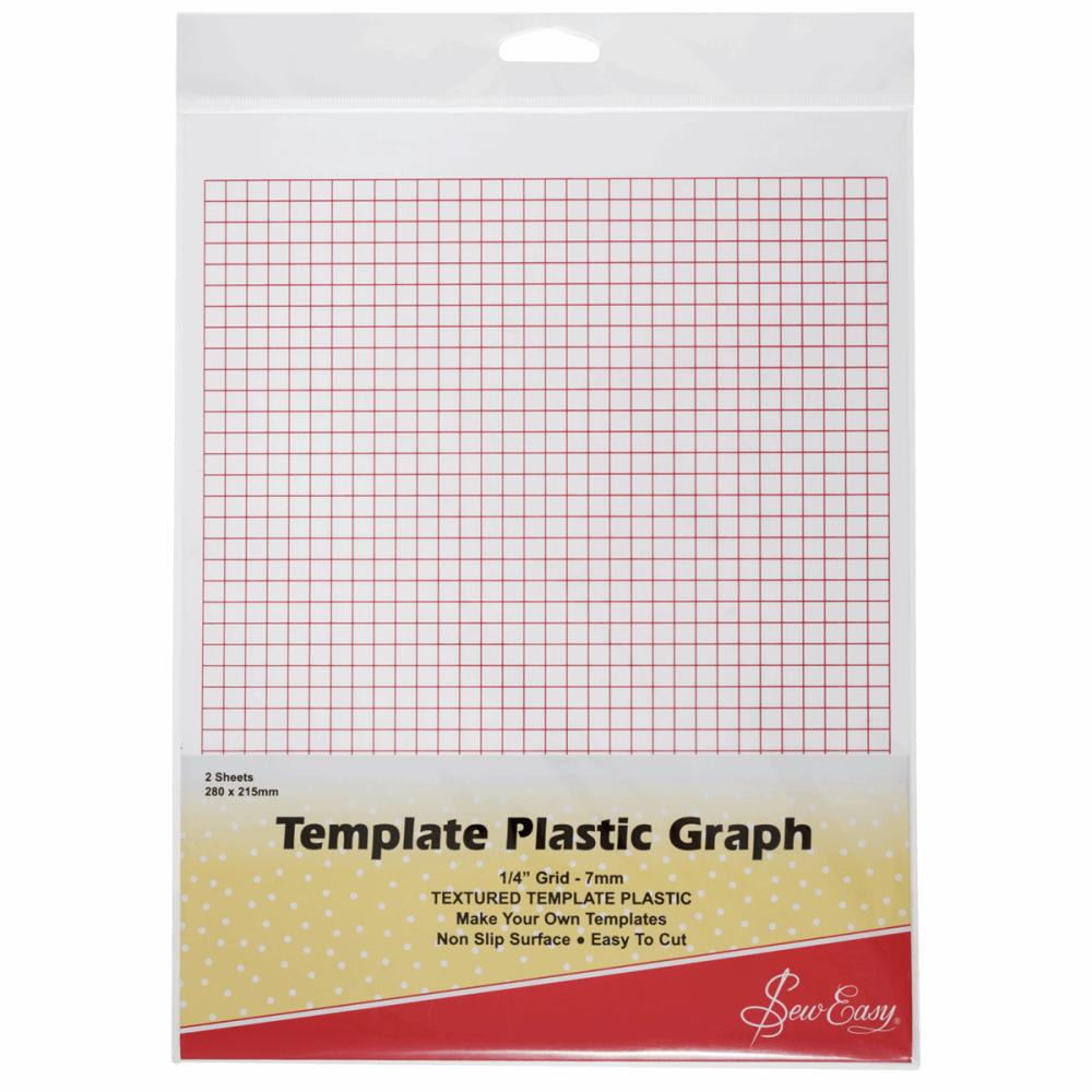 Template Plastic - Printed Grid (Sew Easy)