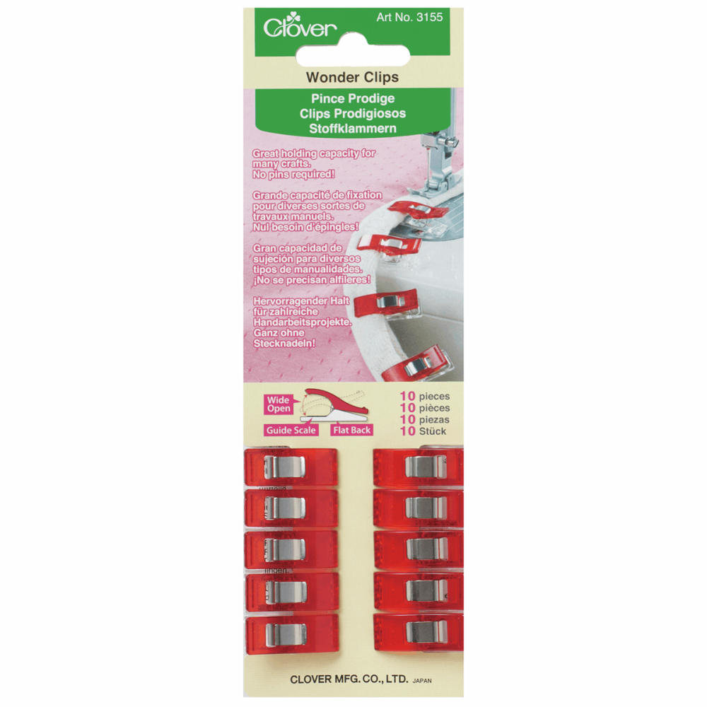 Wonder Clips - Red - Pack of 10