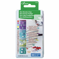 Mini Wonder Clips - Assorted Colours - Pack of 50