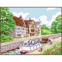 Tapestry Kit - Country Lock (Anchor)