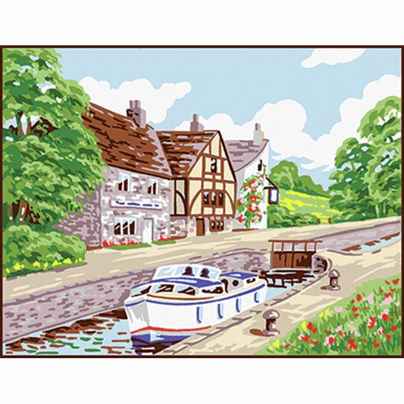 Tapestry Kit - Beginner - Country Lock (Anchor)