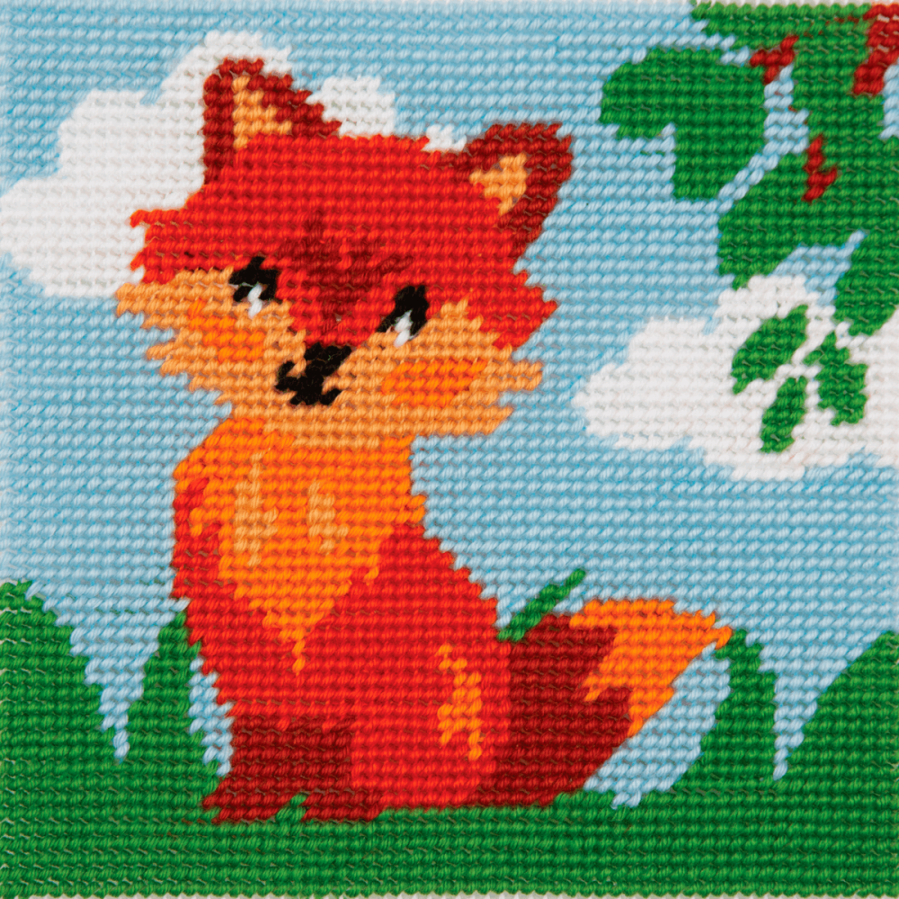 Tapestry Kit - 1st Kit - Friendly Fox (Anchor)