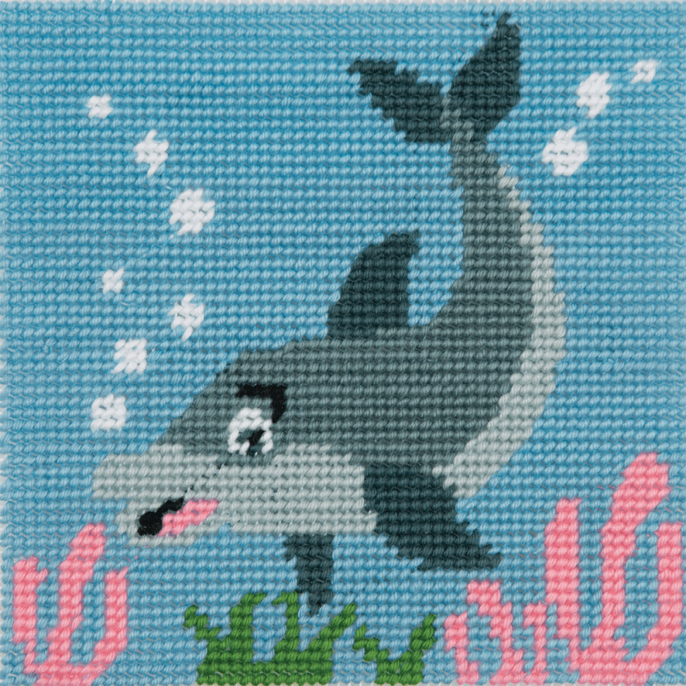 Tapestry Kit - 1st Kit -Dolphin Waves (Anchor)