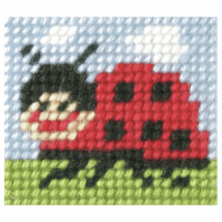 Needlepoint Kit - My First Embroidery - Ladybug (Orchidea)