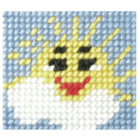 Needlepoint Kit - My First Embroidery - Sunny Day (Orchidea)