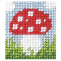 Needlepoint Kit - My First Embroidery - Toadstool (Orchidea)