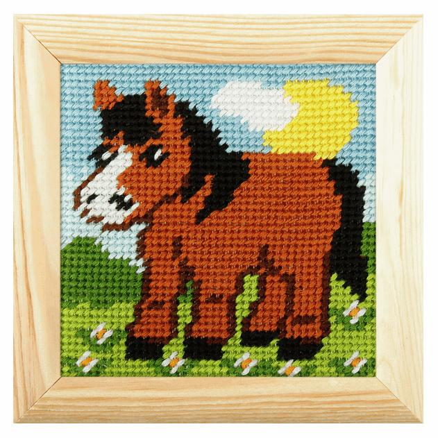 Mini Needlepoint Kit - Pony (Orchidea)