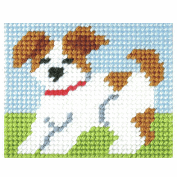 Needlepoint Kit - My First Embroidery - Puppy (Orchidea)