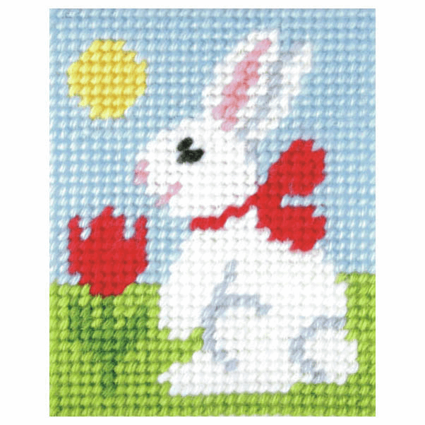 Needlepoint Kit - My First Embroidery - Easter Bunny (Orchidea)