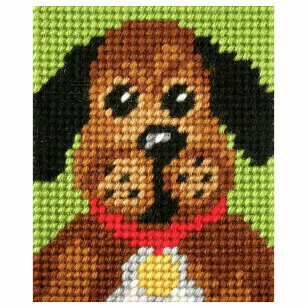 Needlepoint Kit - My First Embroidery - Pooch (Orchidea)