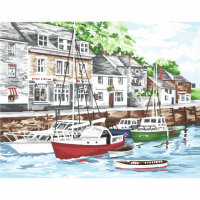 Tapestry Kit - Padstow Harbour (Anchor)