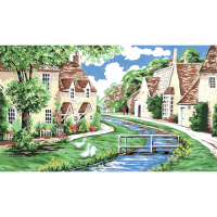 Tapestry Kit - Lower Slaughter, Cotswolds (Anchor)