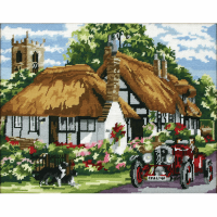 Tapestry Kit - The Village Of Welford (Anchor)