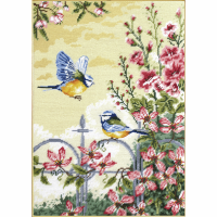 Tapestry Kit - Floral Railings (Anchor)