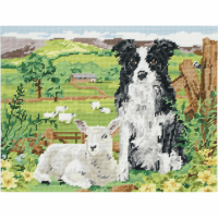 Tapestry Kit - Border Collie And Lamb (Anchor)