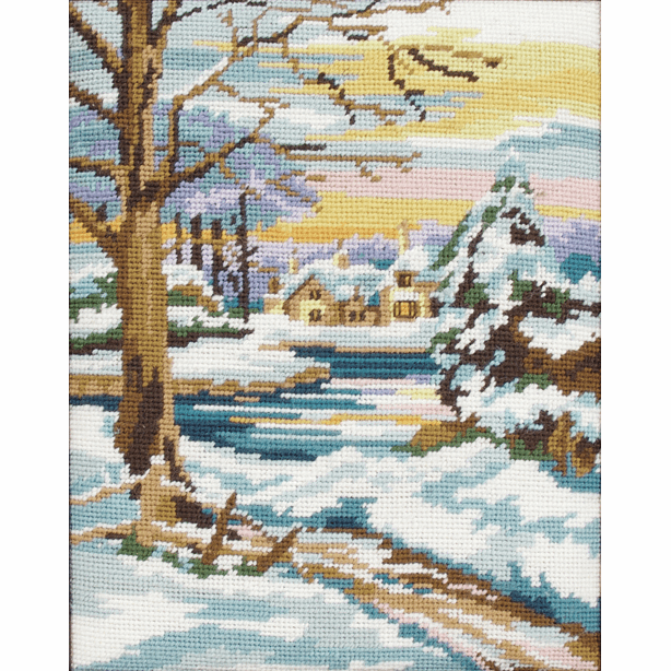Tapestry Kit - Winter Scene (Anchor)