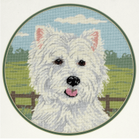 Tapestry Kit - West Highland Terrier (Anchor)
