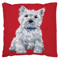 Tapestry Kit - Cushion -  Westie (Anchor Living)