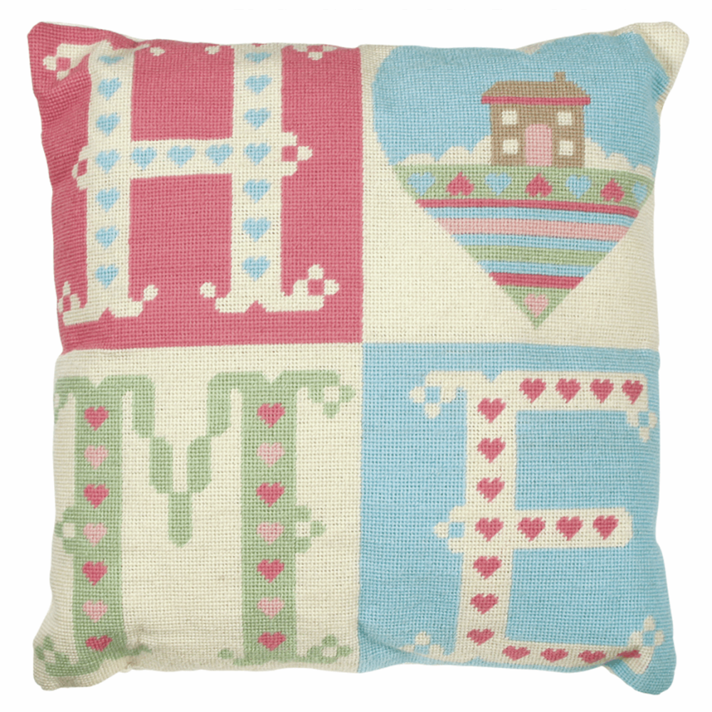Tapestry Kit - Cushion -  Home Sweet Home (Anchor Living)