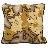 Tapestry Kit - Cushion -  Sepia Map (Anchor Living)
