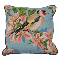 Tapestry Kit - Cushion -  Gold Finch And Blossom (Anchor Living)