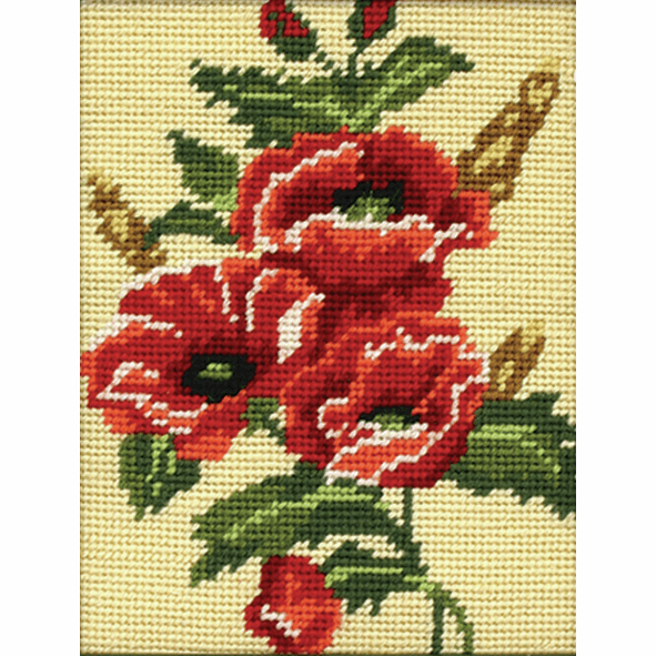 Tapestry Kit - Poppy (Anchor)