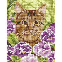 Tapestry Kit - Cat (Anchor)