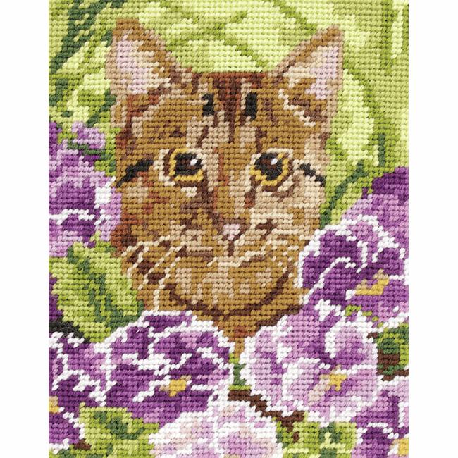 Tapestry Kit - Cat (Anchor)
