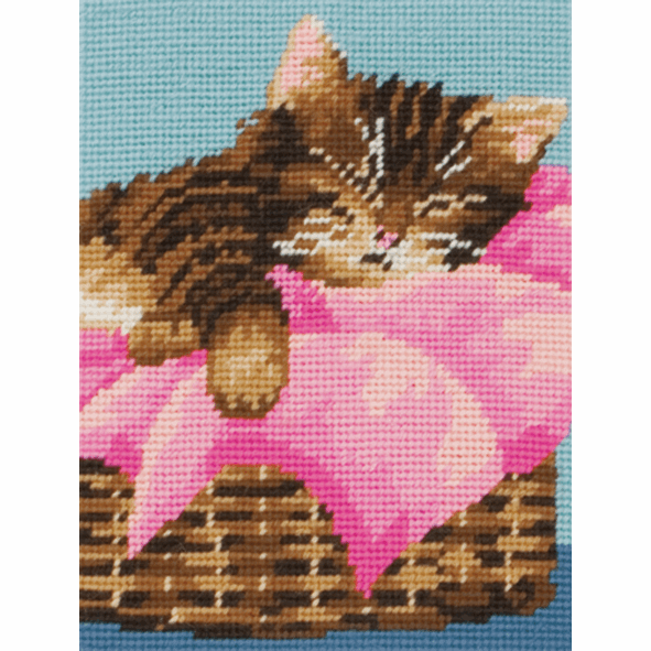 Tapestry Kit - Kitten (Anchor)