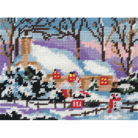 Tapestry Kit - Snow Cottage (Anchor)