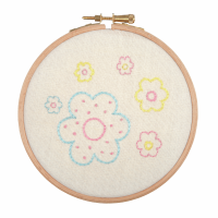 Embroidery Hoop Kit - Floral Arrangement (Anchor)