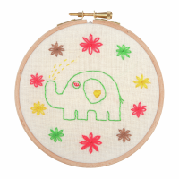 Embroidery Hoop Kit - Baby Elephant (Anchor)
