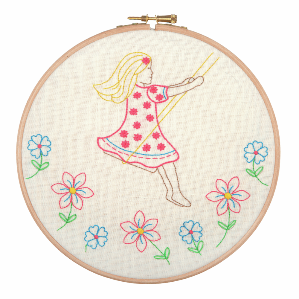 Embroidery Hoop Kit - Summer Days (Anchor)