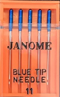Janome Blue Tip Needles - Size 75/11