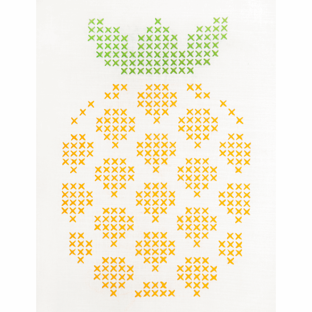 Embroidery  Kit - Pineapple (Anchor)