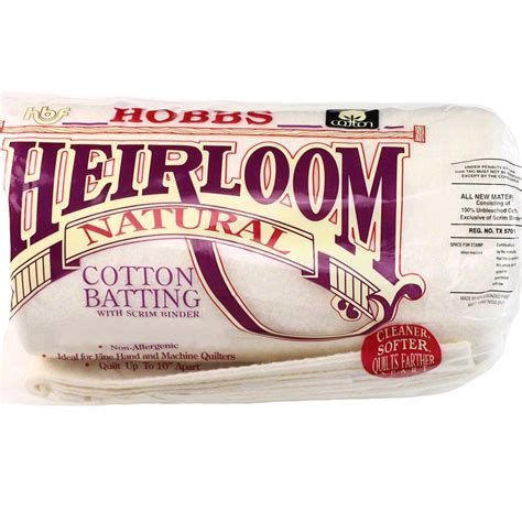 Hobbs-   Heirloom Cotton Scrim: Queen-Size 90