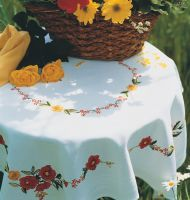 Embroidery  Kit - Poppies Tablecloth (Anchor)
