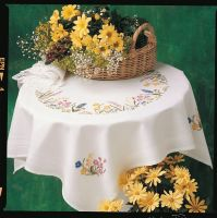 Embroidery  Kit -Spring Garland Tablecloth (Anchor)
