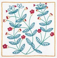 Embroidery  Kit - Pimpernel (Anchor by Dee Hardwicke)