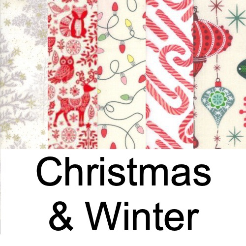 Christmas & Winter Fabrics