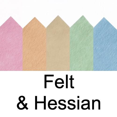 Felt & Hessian