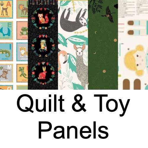 Quilt & Toy Panels