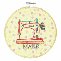 Embroidery Hoop Kit - Make (Dimensions Learn A Craft)