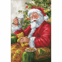 Diamond Facet Art Kit - Santa's Cuppa (Diamond Dotz)