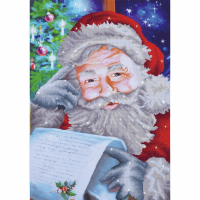 Diamond Facet Art Kit - Santa's Wish List (Diamond Dotz)