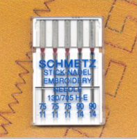 Embroidery Needles - Mixed Size Pack (Schmetz)