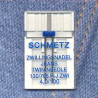 Jeans Twin Needle - Size 4/100 (Schmetz)